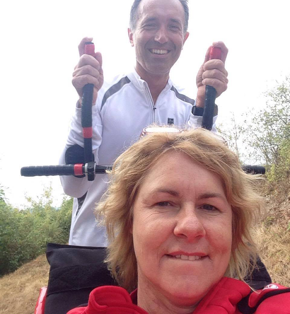 100km de Millau Marie Jo and Phil